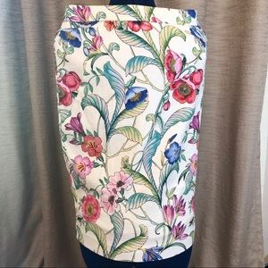 Ann Taylor | Floral Pencil Skirt 2